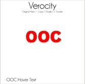 Verocity - OOC Hover Text