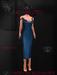 Ec.cloth - Silk Maxi-Dress - Ocean