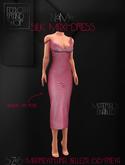 Ec.cloth - Silk Maxi-Dress - Pink (add it)