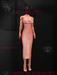 Ec.cloth - Silk Maxi-Dress - Rosegold