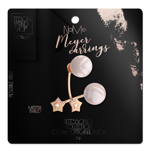 Ec.cloth -  Meyer Earrings - Gold
