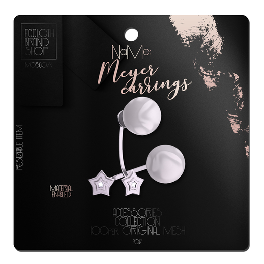 Ec.cloth -  Meyer Earrings - Silver