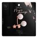 Ec.cloth -  Meyer Earrings - Rose Gold (add it)