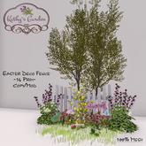 Kathy`s Garden Easter Deco Fence
