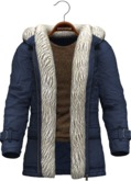 !APHORISM! Winter Parka Men - Blue