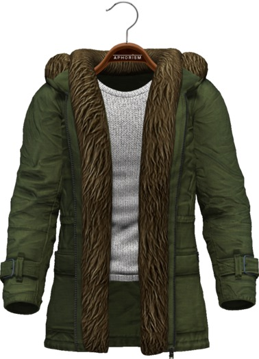 !APHORISM! Winter Parka Men - Green