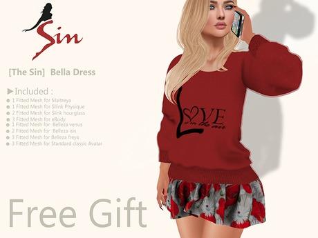 [The Sin]  Bella Dress