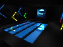 Aquarius Mirrored floor Club Skybox