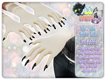 [BB//MM] Bento Nails For Kemono - Basic - v1.5