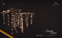 {vespertine}- twinkle fairylight set / gold