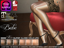 Bebe Stockings Fiore Super Glossy w/ BOM & Materials 6-Pack