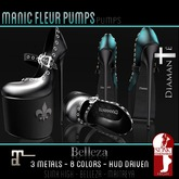 :Diamante: Manic Fleur Pumps (SLink High-Belleza-Maitreya)