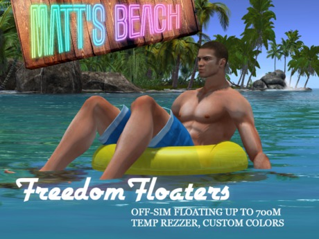 Freedom Floaters - OFF-SIM up to 700m!