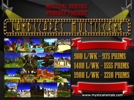 !NEW! LANDSCAPES MULTISCENE by Mystical Rentals