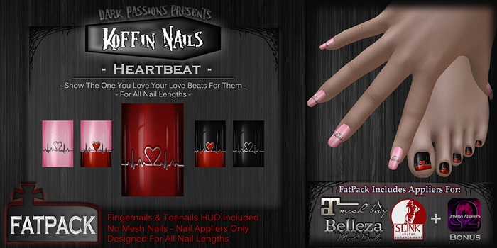 DP - Koffin Nails - FatPack - Heartbeat