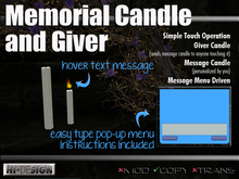 Memorial Candle Giver (boxed)