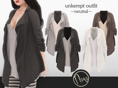 neve outfit - unkempt neutral