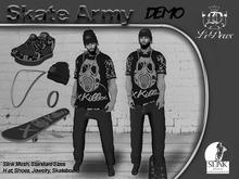 LeDoux Skate Army Male DEMO Wear Me!