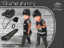 LeDoux Skate Army TD Boy Black