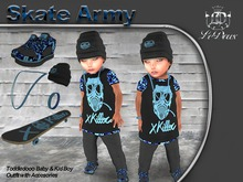LeDoux Skate Army TD Boy Blue