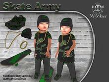 LeDoux Skate Army TD Boy Green