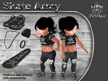 LeDoux Skate Army TD Girl Black
