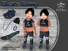 LeDoux Skate Army TD Girl Blue