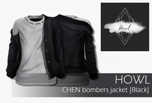 Howl - CHEN bombers jacket [BLACK]  WEAR