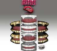 KissKiss Catwa Golden Grillz