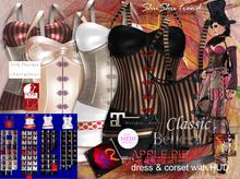 ShuSHu APPLE PIE corset & dress with HUD - Classic Maitreya SLink Belleza TMP