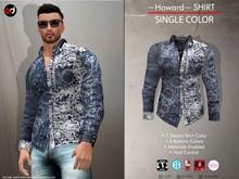 A&D Clothing - Shirt -Howard- Navy