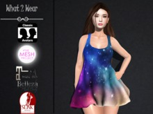 .::.What2Wear.::. Baggy Dress Pack Galaxy / Clouds