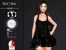 .::.What2Wear.::. Baggy Dress Pack Glitter