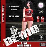 [F] DEMO -  Liza Mini Skirt - 13 Color Fatpack