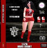 [F] Liza Mini Skirt - 13 Color Fatpack