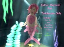 {HCM} Glitter Mermaid Pink