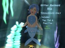 {HCM} Glitter Mermaid Blue