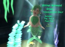 {HCM} Glitter Mermaid Green
