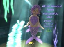 {HCM} Glitter Mermaid Purple