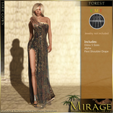 =Mirage= by KRC - Sarie Gown - Forest