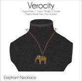 Verocity - Necklace: Elephant