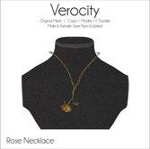 Verocity - Necklace: Rose