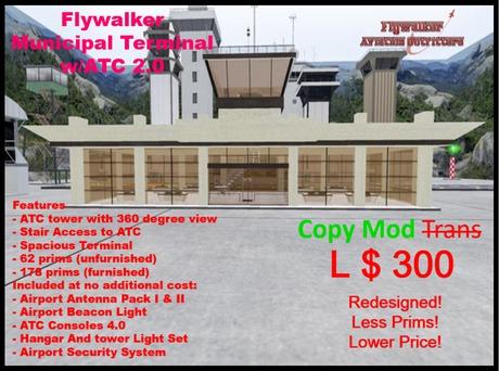 Flywalker Municipal Terminal w/ATC 2.0 (BOXED)