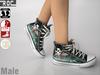 ::ROC:: Canvas Sneaker! Aurora (MALE)