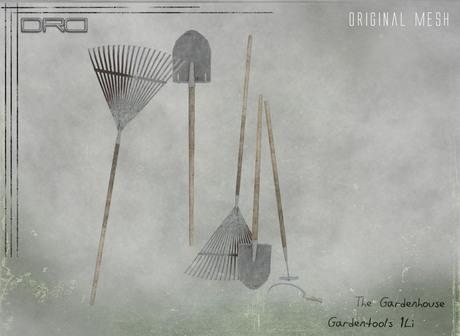 -DRD- Garden House - Garden Tools