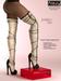 AZOURY - Faithfulness  thigh-high boots [White]