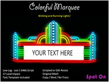 *SO* Colorful Marquee