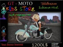 GT - MOTO Kids Indiana Mint White ToddleDoo (BOX)