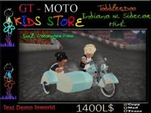 GT - MOTO Kids Indiana Sidecar Mint ToddleDoo (BOX)