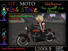 GT - MOTO Kids The small One Flames ToddleDoo (BOX)